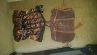 brown and black two pice corset Vernon, V1T 5Y4