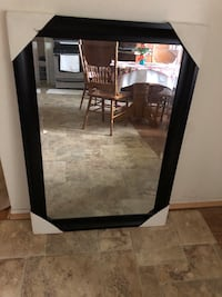 black and  wooden frame mirror  Alexandria, 22310