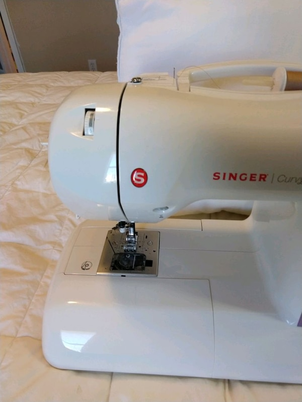 Used Singer Curvy 40 Sewing Machine For Sale In West Chester Letgo Gorgeous Singer Curvy 8763 Sewing Machine
