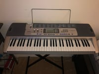 Black and gray electronic keyboard Jessup, 20794