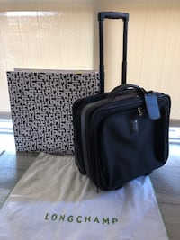 Longchamp Boxford Black trolley Carry On Luggage Reston, 20190