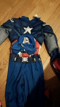 blue and white Ironman costume Germantown, 20874
