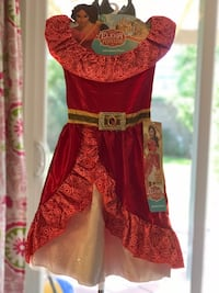 NEW  Disney Elena Of Avalor Adventure Dress 4-6x Irvine, 92620
