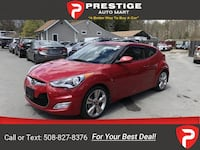 2017 Hyundai Veloster Value Edition coupe Red