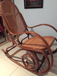 Authentic bentwood rocking chair made in Italy 786 km