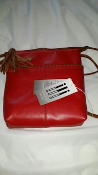 Brand new with tags red leather purse Sparta, 38583