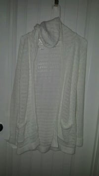 Women's hoodie knitted long cardigan size large  Bakersfield, 93313