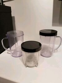Magic bullet Cups with Lids Burnaby, V3N 1V2