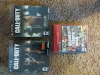 Ps3 games (2 call of duty collection/ gta) BRAND NEW!
