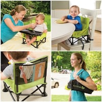 New, unused  summer infant pop n sit portable booster 514 km