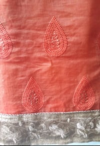 Orange Saree  Vasai