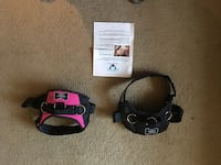 Black and pink dog harnesses$ 40 for both Hagerstown, 21740