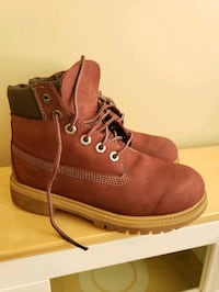 Timberland GIRL's shoes boots size 1 Vaughan, L4J 0A3