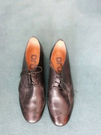 Black Leather Shoes 38/39