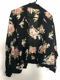 black and yellow floral long-sleeved shirt Las Vegas, 89128