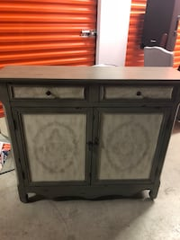 Powell Blue/Gray and White console Rockville, 20852