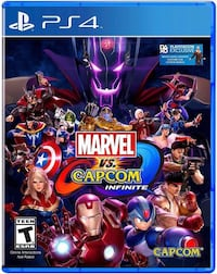 Marvel vs capcom PS4 game  Los Angeles, 90744