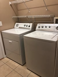 Electric Whirlpool Washer and Dryer the set is in Excellent Condition asking $250 for the Pair!! Kissimmee, 34746