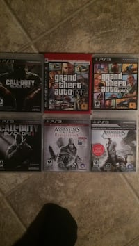 PS3 Games 3 for $10 Selkirk, R1A