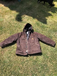 Xl carhartt winter jacket with hood