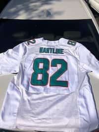 e6be638efe7 NEW : BRIAN HARTLINE DOLPHINS JERSEY (7TH PACE ALL TIME IN DOLPHIN  RECEIVING YARDS)