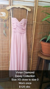 pink and white sleeveless dress Victoria, V9A 1L6