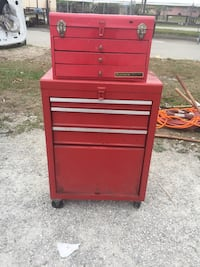 Red tool chest Cape Coral, 33909