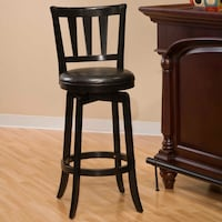 Hillsdale Presque Isle 30 in. Swivel Bar Stool - Cherry (Brandnew) Retail Price: $ 95-122(1 chair only) Greenwood, 46143