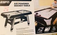 Brand New in box - ESPN 60-Inch Air Powered Hockey Table