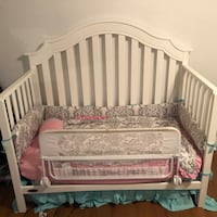 3 in 1 Baby Bed and Mattress