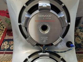 Kenwood sound system with Amplifier