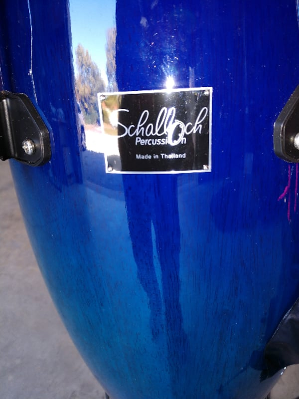 Like new set of 3 Schalloch Congas 6851646b-cb8d-4102-965f-a3875afe94eb