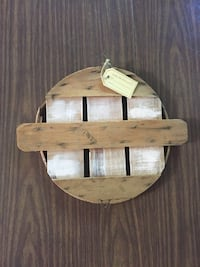 Crab Basket Lid Wall Decor Marinette