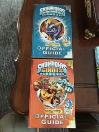 two Skylanders official guide books Vaughan, L6A
