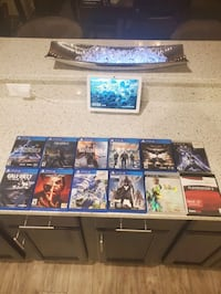 PS4 and PS3games