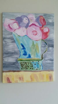 Modern Painting: Flowers in Pitcher