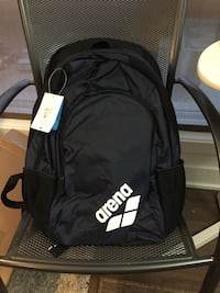 Blue navy Arena backpack - new !!!