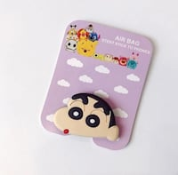 Crayon Shin Chan cute airbag holder for cell phone