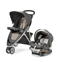 Baby's black and gray travel system Riverdale, 20737