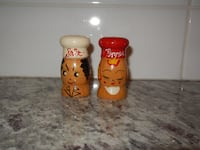 *Vintage* Salty and Peppy Shakers  Morinville