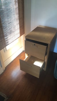 brown wooden 2-drawer nightstand West Palm Beach, 33405