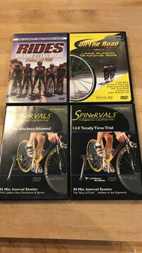 Cycling workout DVD's South Bend, 46614