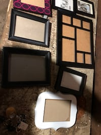Lot of 10 picture frames