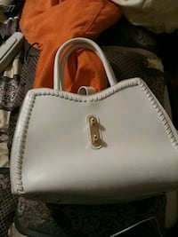 white leather Michael Kors tote bag Kissimmee, 34746