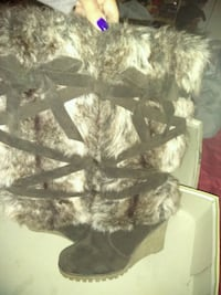 brown and gray fur coat Orlando, 32821