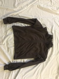 black and gray Nike zip-up jacket Edmonton, T5M 2Y1