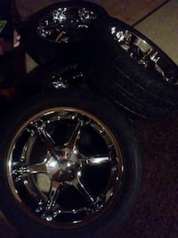 20inch rims and tires in very good condition  Martinsburg, 25405