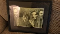 The Beatles artwork with black wooden frame Weirton, 26062