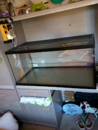 40 gallon tank.  Has two chips on top but still closes.  $65 OBO Maple Ridge, V2X 6K4