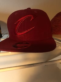 red and black Nike fitted cap Sarasota, 34238